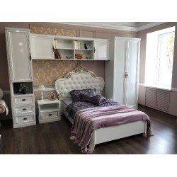 Белая классическая детская кровать Изабелла