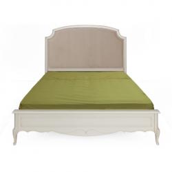 Белая деревянная кровать 1600 с стиле Провадс Кьяра, Мобекс