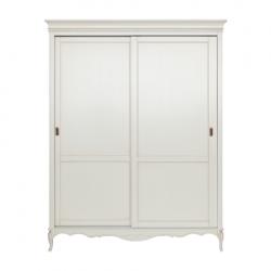 Румынский шкаф-купе в белом цвете для спальни Кьяра, Мобекс