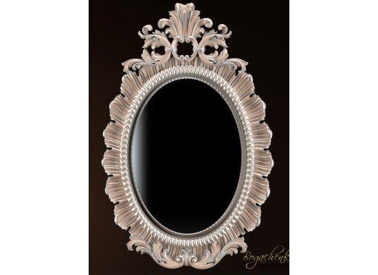 Овальная резная рама для зеркала или картины 021