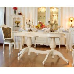 Белый обеденный стол Могадор. Румыния