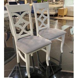 Белый обеденный стул Хлоя