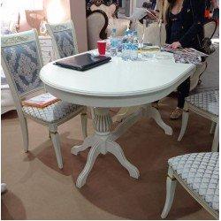 Классический белый раскладной стол Селена Люкс