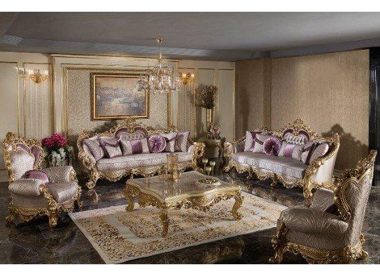 Мягкий классический комплект мебели Султана (SALTANAT SEDEF)