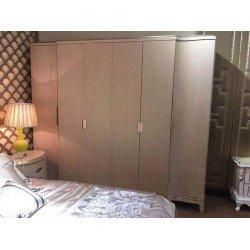 Большой шестидверный шкаф без зеркал Джокер