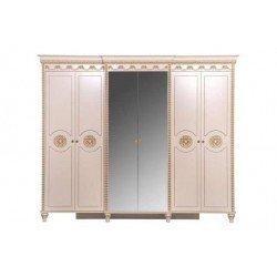 Прямой классический шкаф с зеркалом Кастилия