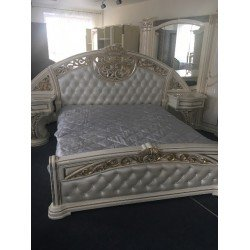 Белая кровать Латифа - Флоренция, Слониммебель