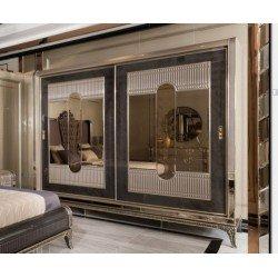 Большой шкаф-купе в спальню Рива, Акм