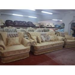 Мягкий диван с креслами Лотос