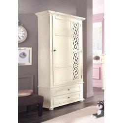 Однодверный шкаф Арабеск в прихожую в классическом стиле