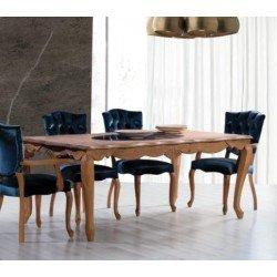 Обеденный стол из натурального дерева Гранд
