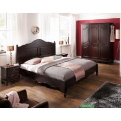 Классическая деревянная кровать 1800 Люберон с элементами барокко