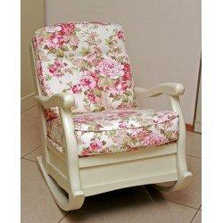 Кресло качалка в стиле Прованс РОМА, Румыния