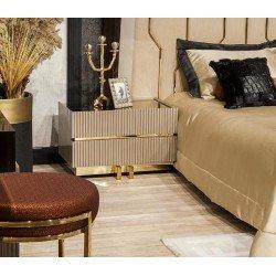 Квадратная прикроватная тумбочка в спальню Витра ( REST)