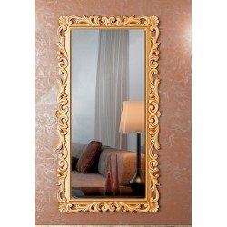 Большое резное зеркало в деревянной раме Мирабелла