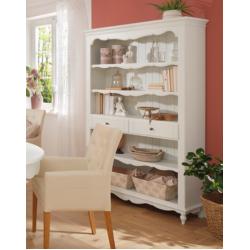 Книжный шкаф- этажерка в стиле прованс Люберон ( Лаванда)