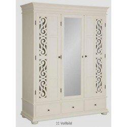 Трехдверный шкаф для спальни Арабеск