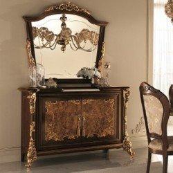 Двухдверный буфет в гостиную Симфония в стиле барокко