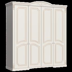 Четырехдверный шкаф в спальню Версаль