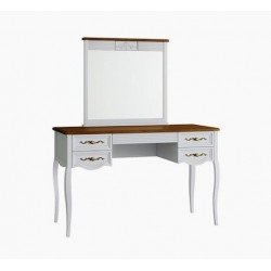 Столик туалетный с зеркалом Тоскана