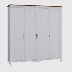 Четырехдверный шкаф без зеркал Тоскана