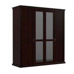 Четырехдверный шкаф с зеркалами Доминика