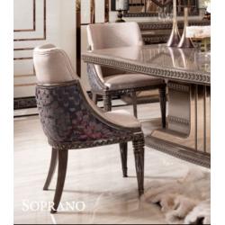 Мягкий стул Сопрано в стиле АРТ-Деко