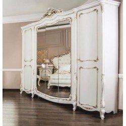 Пятидверный шкаф в спальню Афродита