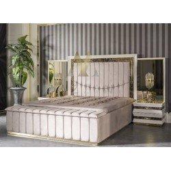 Современная кровать с мягким изголовьем Лексус MAZ