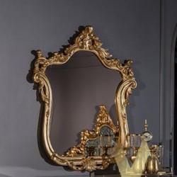 Золотое резное зеркало Маркус MAZ