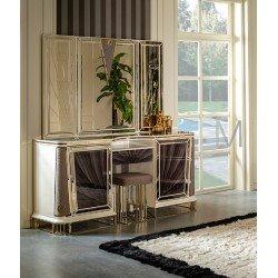 Элитный туалетный столик с зеркалом  Бугатти (Bugatti)