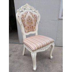 Белый деревянный стульчик в классическом стиле JF-2210W