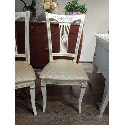 Белый классический обеденный стул Милера ( Лира)