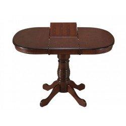 Обеденный раскладной стол цвет темный орех VR-T4X