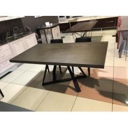 F2208AA  Деревянный стол на металлических ногах, Китай