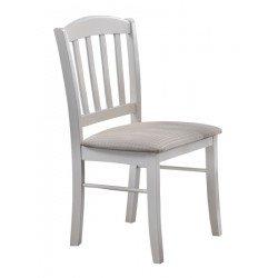 Белый деревянный стул Нортон, Китай