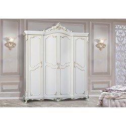 Шкаф для одежды белый Шампань, Энигма