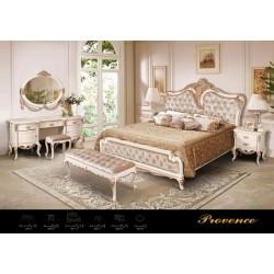 Классическая белая кровать 1800 Прованс, Америка
