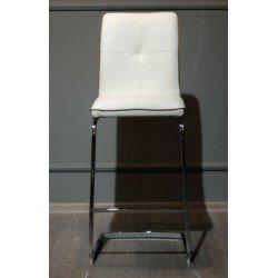 Белый барный стул Маями