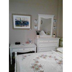 Белый комод в мебельный гарнитур Прованс, Украина