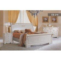 Кровать с твердым изголовьем Себастьян СБ - 210, LIVS