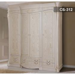 Одежный шкаф в мебельный гарнитур Себастьян, Ливс