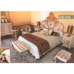 Резная кровать в стиле барокко Себастьян 226, Украинна
