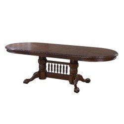 Обеденный раскладной стол из каучукового дерева HNDT-4296-SWC, Китай