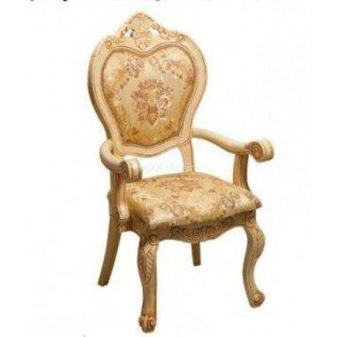 Резной стул с подлокотниками Классик 719 S в цвете DP Daming