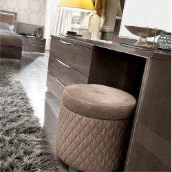 Дамский туалетный стол в стиле модерн Платинум, Италия