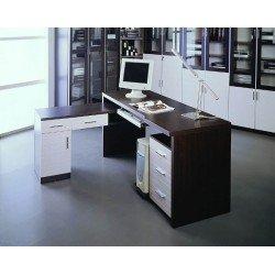Компьютерный стол Сигма от фабрики ЛВС