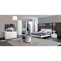 Белая итальянская кровать Дама Бьянко, Кемелгруп