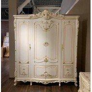 Белый четырехдверный шкаф Равенна, Китай