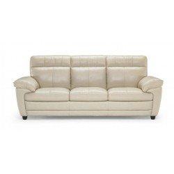 Кожаный итальянский диван с реклайнером Софтали U074